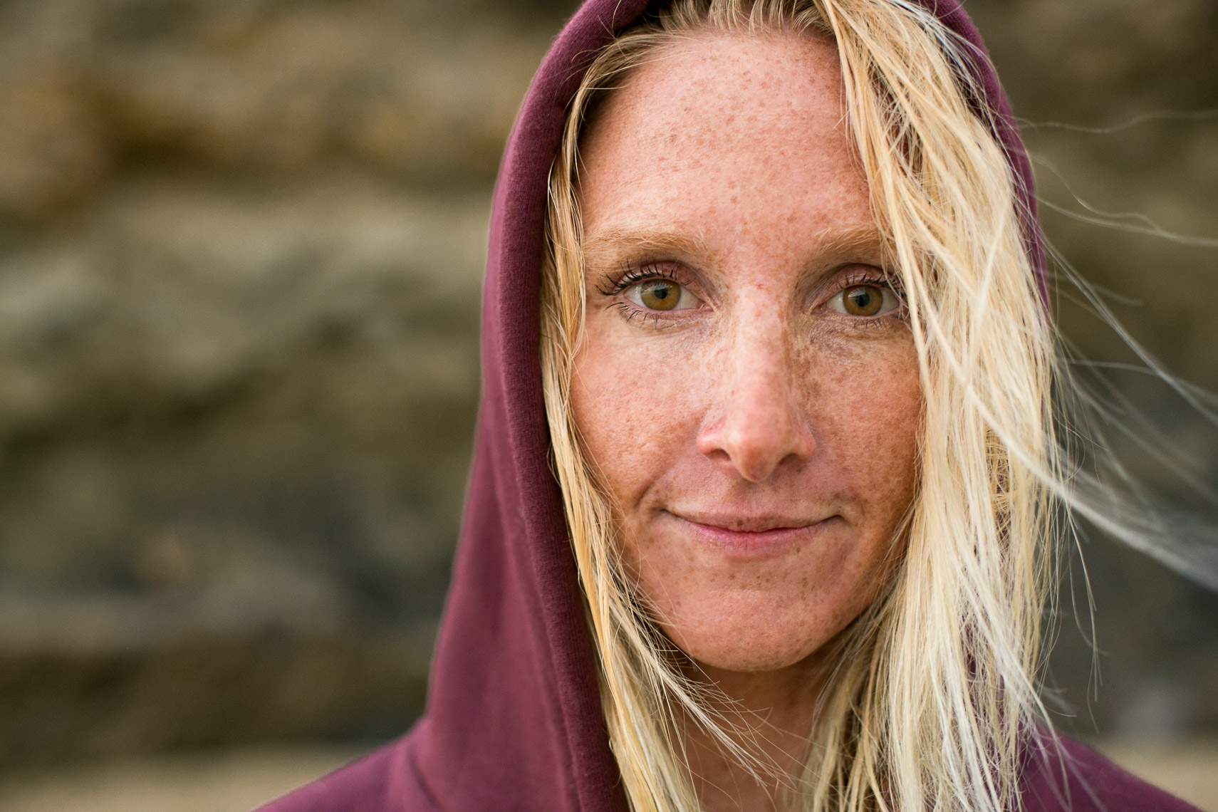 Female Surfer Portrait