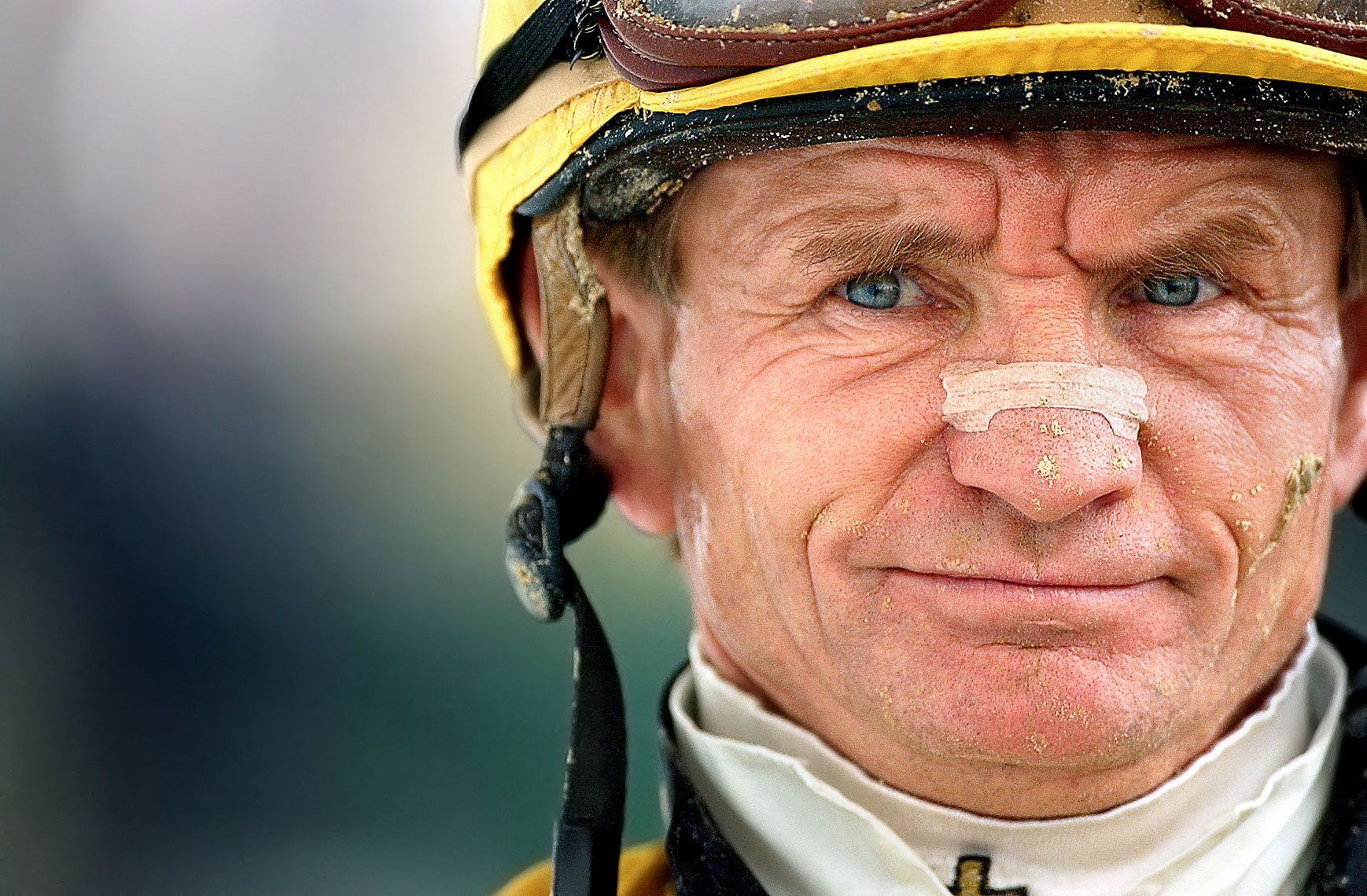 Horse Jockey Portrait