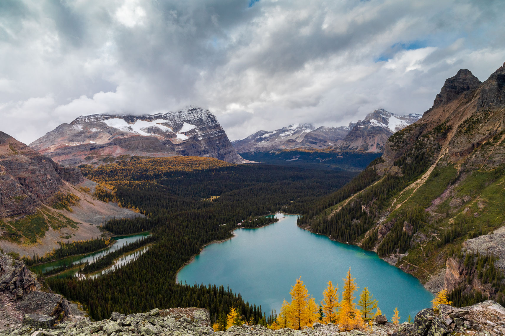 Lake Ohara Mountains