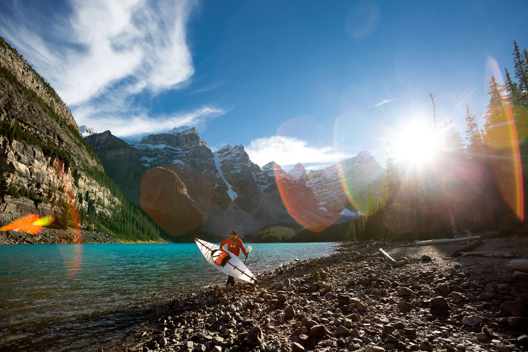 Lake Louise Kayaking