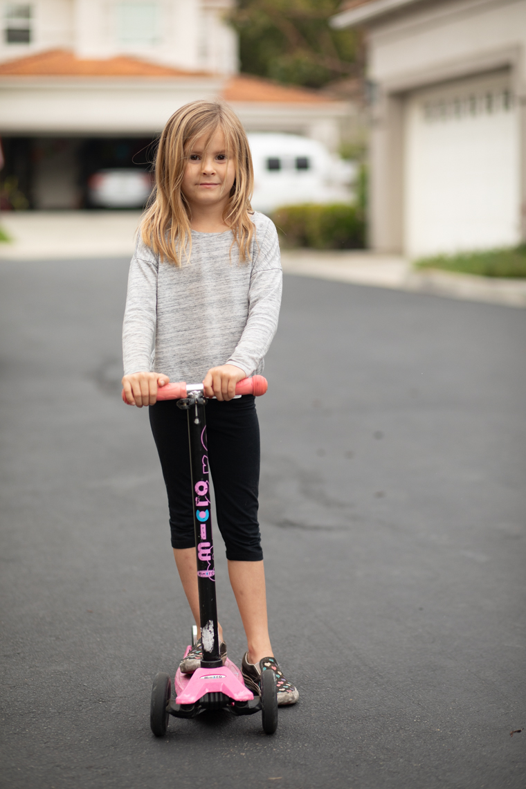 Neighborhood Scooter Girl