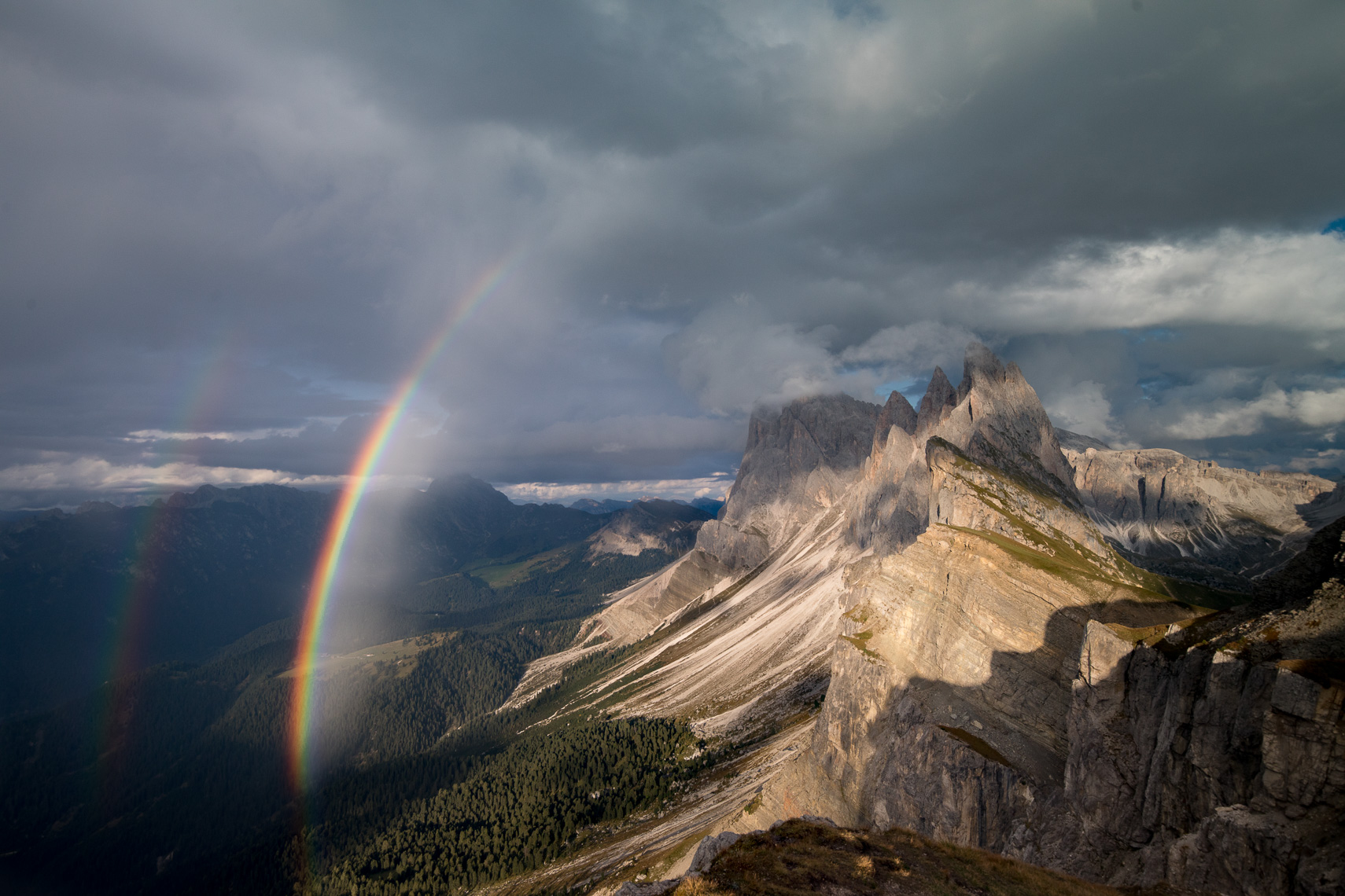 Seceda Val Gardena Rainbows