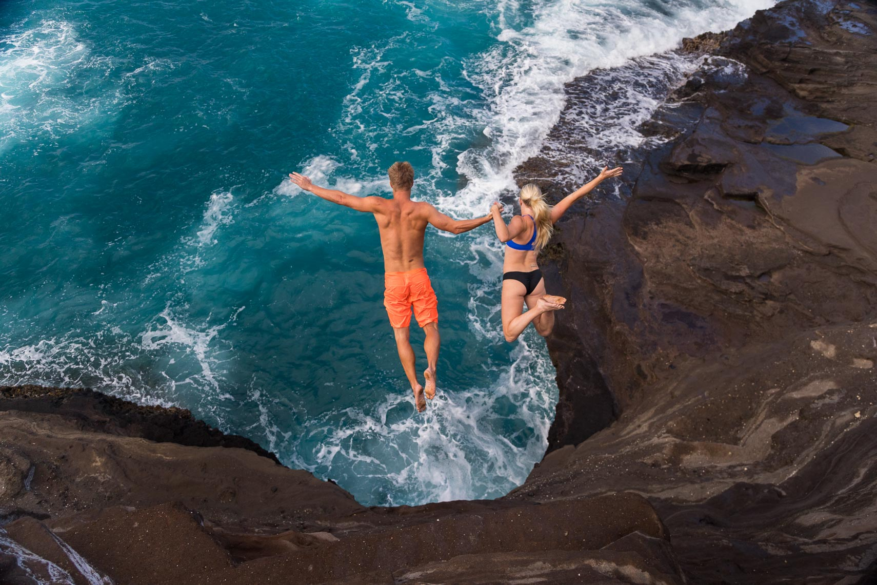 Lifestyle Cliff Divers