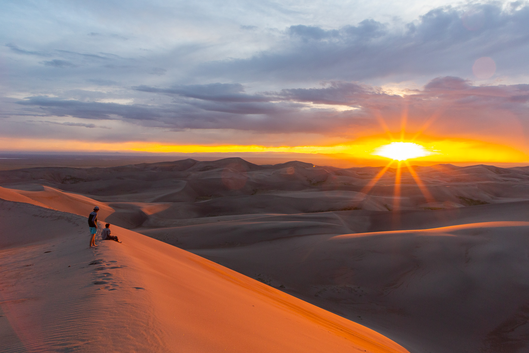 High Dune Sunset